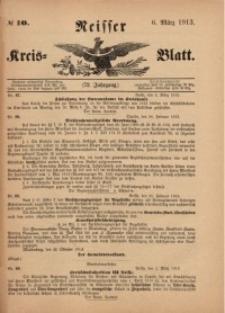 Neisser Kreis-Blatt, 1913, Jg. 72, nr10