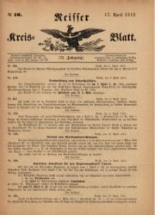 Neisser Kreis-Blatt, 1913, Jg. 72, nr16