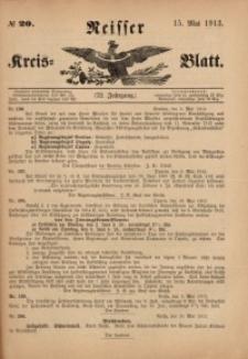 Neisser Kreis-Blatt, 1913, Jg. 72, nr20