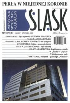 Śląsk, 2008, R. 14, nr 6