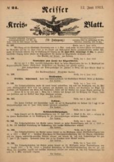 Neisser Kreis-Blatt, 1913, Jg. 72, nr24