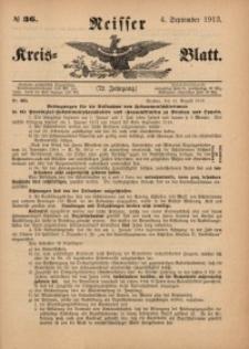 Neisser Kreis-Blatt, 1913, Jg. 72, nr36