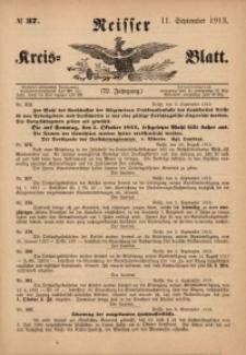 Neisser Kreis-Blatt, 1913, Jg. 72, nr37