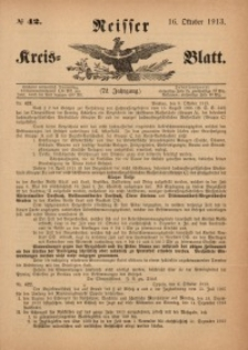 Neisser Kreis-Blatt, 1913, Jg. 72, nr42