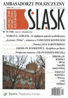 Śląsk, 2008, R. 14, nr 12