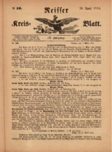 Neisser Kreis-Blatt, 1914, Jg. 73, nr16