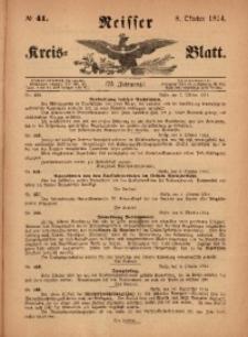 Neisser Kreis-Blatt, 1914, Jg. 73, nr41