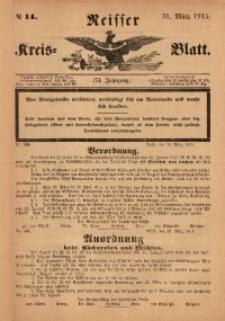 Neisser Kreis-Blatt, 1915, Jg. 74, nr14
