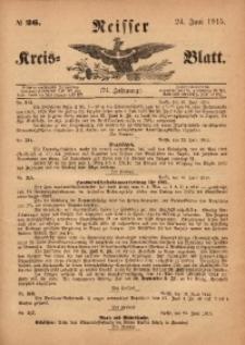 Neisser Kreis-Blatt, 1915, Jg. 74, nr26