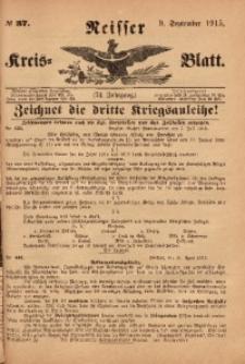 Neisser Kreis-Blatt, 1915, Jg. 74, nr37