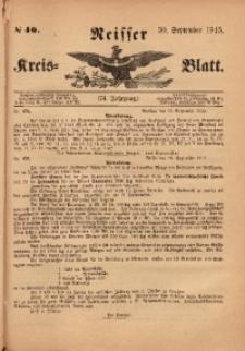 Neisser Kreis-Blatt, 1915, Jg. 74, nr40