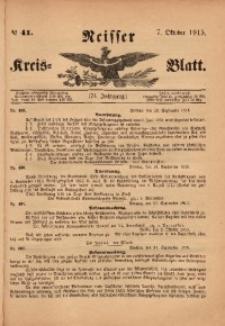 Neisser Kreis-Blatt, 1915, Jg. 74, nr41