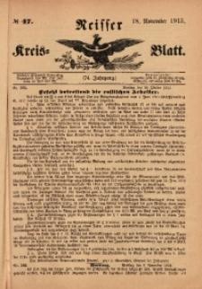 Neisser Kreis-Blatt, 1915, Jg. 74, nr47