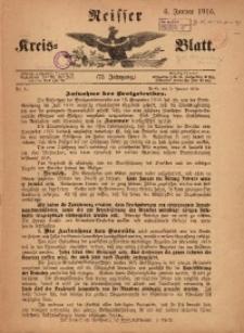 Neisser Kreis-Blatt, 1916, Jg. 75, nr1