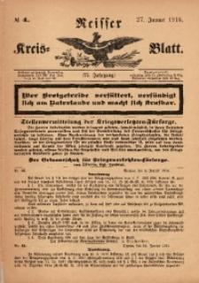 Neisser Kreis-Blatt, 1916, Jg. 75, nr4