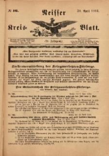Neisser Kreis-Blatt, 1916, Jg. 75, nr16