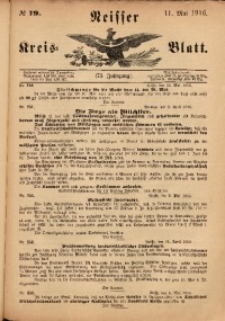 Neisser Kreis-Blatt, 1916, Jg. 75, nr19