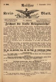 Neisser Kreis-Blatt, 1916, Jg. 75, nr36