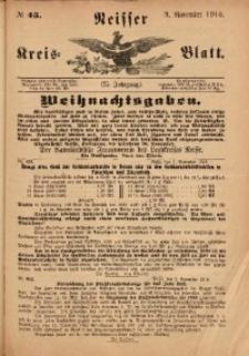 Neisser Kreis-Blatt, 1916, Jg. 75, nr45