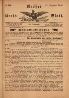 Neisser Kreis-Blatt, 1916, Jg. 75, nr51