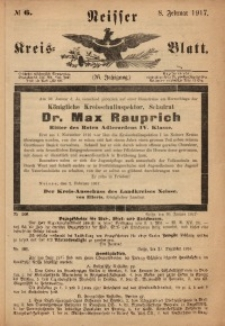 Neisser Kreis-Blatt, 1917, Jg. 76, nr6
