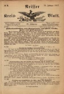 Neisser Kreis-Blatt, 1917, Jg. 76, nr7