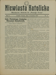 Robotnik Chrześcijański, 1931, Nry 2-10