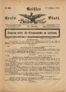 Neisser Kreis-Blatt, 1917, Jg. 76, nr42