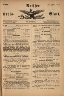 Neisser Kreis-Blatt, 1919, Jg. 78, nr26