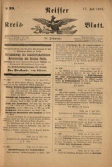 Neisser Kreis-Blatt, 1919, Jg. 78, nr29