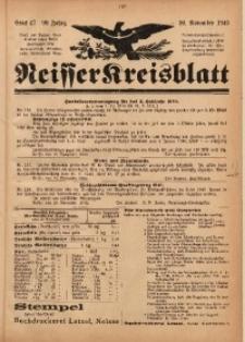 Neisser Kreisblatt, 1940, Jg. 99, Stück 47