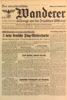 Der Oberschlesische Wanderer, 1937, Jg. 110, Nr. 321