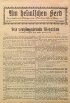Am Heimischen Herd, 1929, Jg. 101, Nr. 62