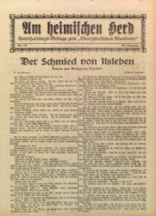 Am Heimischen Herd, 1929, Jg. 102, Nr. 127
