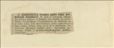 Wycinek z gazety o wyborach gminnych w Bielsku w dniu 08.11.1925 r.