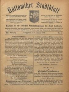Kattowitzer Stadtblatt, 1919, Jg. 12, nr3