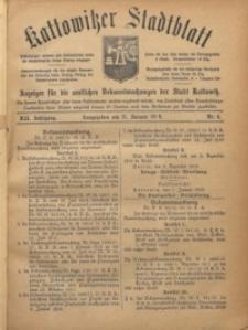 Kattowitzer Stadtblatt, 1919, Jg. 12, nr4