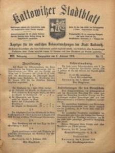 Kattowitzer Stadtblatt, 1919, Jg. 12, nr12