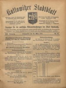 Kattowitzer Stadtblatt, 1919, Jg. 12, nr25