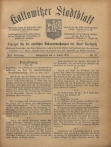 Kattowitzer Stadtblatt, 1919, Jg. 12, nr27