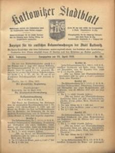 Kattowitzer Stadtblatt, 1919, Jg. 12, nr33