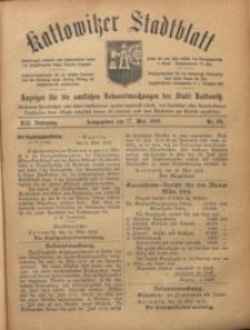 Kattowitzer Stadtblatt, 1919, Jg. 12, nr38