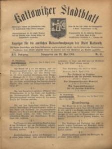 Kattowitzer Stadtblatt, 1919, Jg. 12, nr41