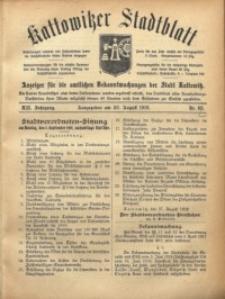 Kattowitzer Stadtblatt, 1919, Jg. 12, nr68