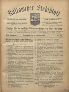 Kattowitzer Stadtblatt, 1919, Jg. 12, nr80