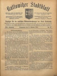 Kattowitzer Stadtblatt, 1919, Jg. 12, nr81