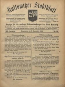 Kattowitzer Stadtblatt, 1919, Jg. 12, nr88