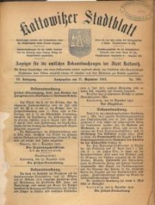 Kattowitzer Stadtblatt, 1913, Jg. 6, nr100
