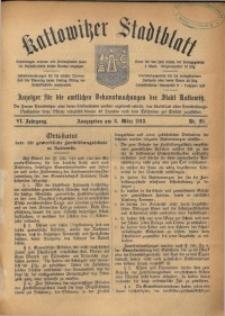 Kattowitzer Stadtblatt, 1913, Jg. 6, nr20