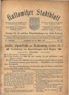 Kattowitzer Stadtblatt, 1913, Jg. 6, nr22